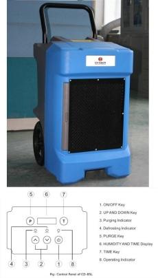 Commercial dehumidifier. Industrial dehumidifier.